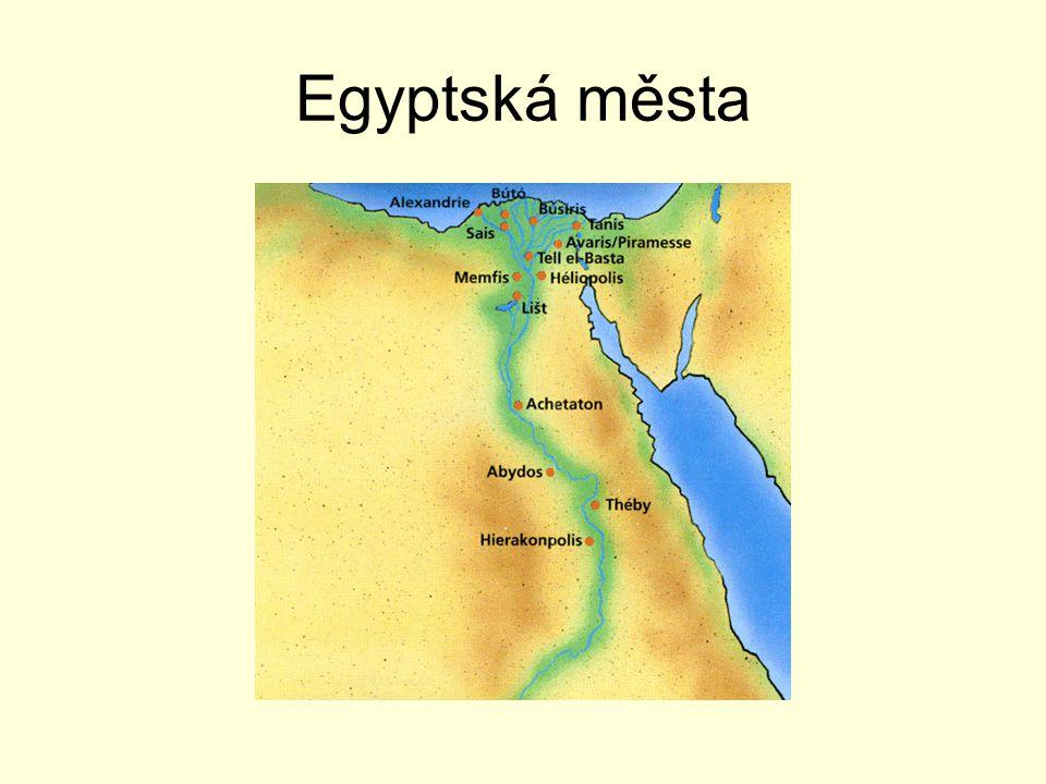 Egyptská města