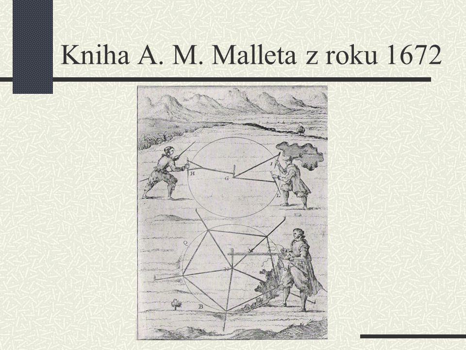 Kniha A. M. Malleta z roku 1672