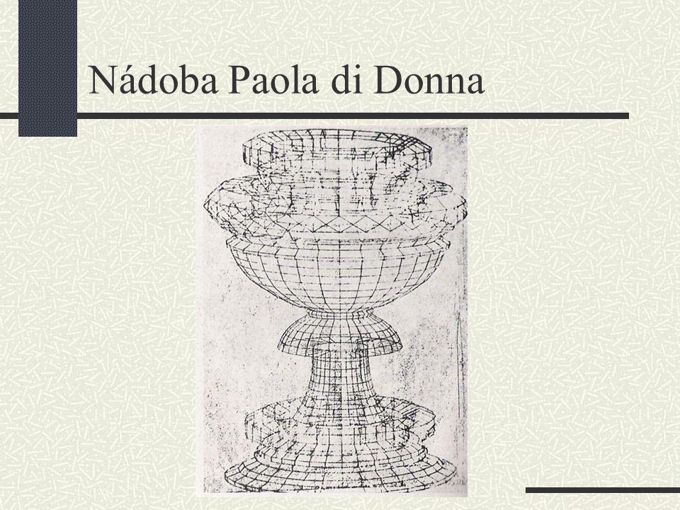 Nádoba Paola di Donna