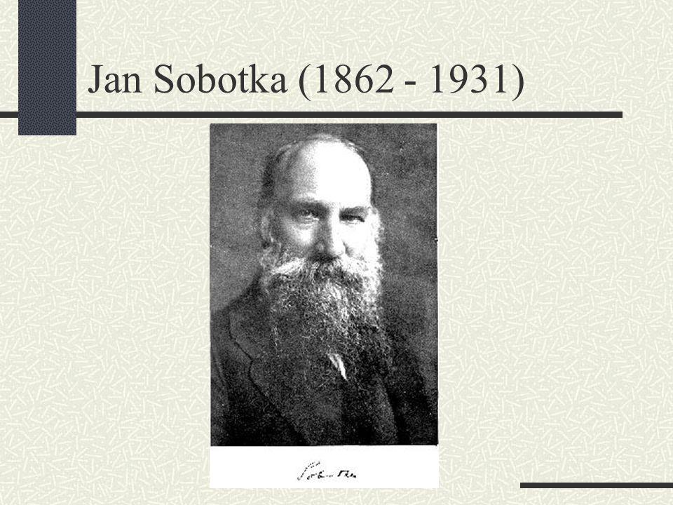 Jan Sobotka (1862 - 1931)