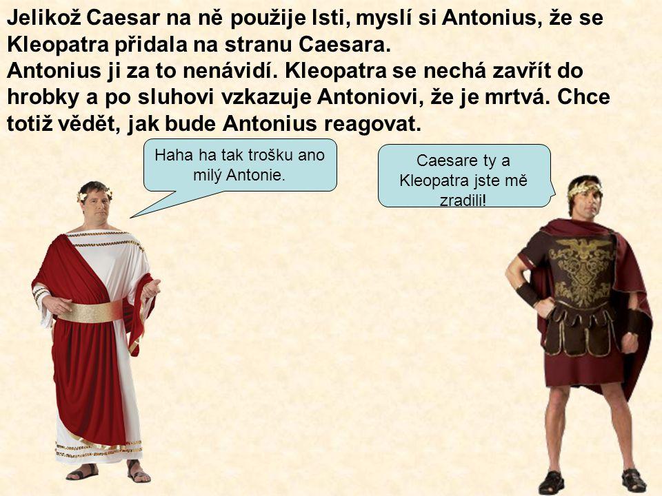 Antonio si žalem zabodne do sebe meč.