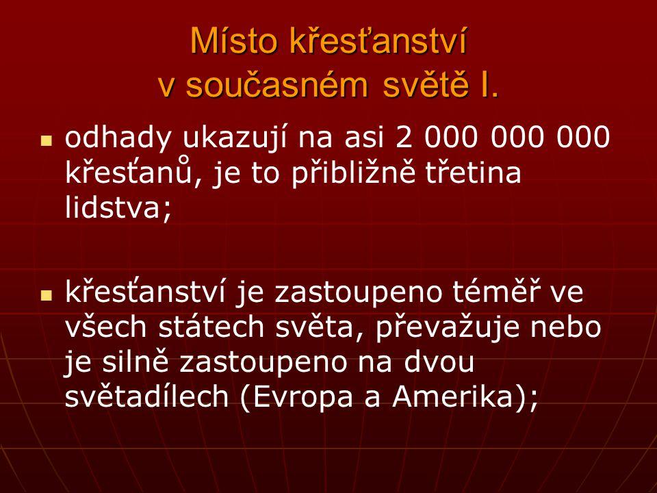 Řeholníci a řeholnice II.