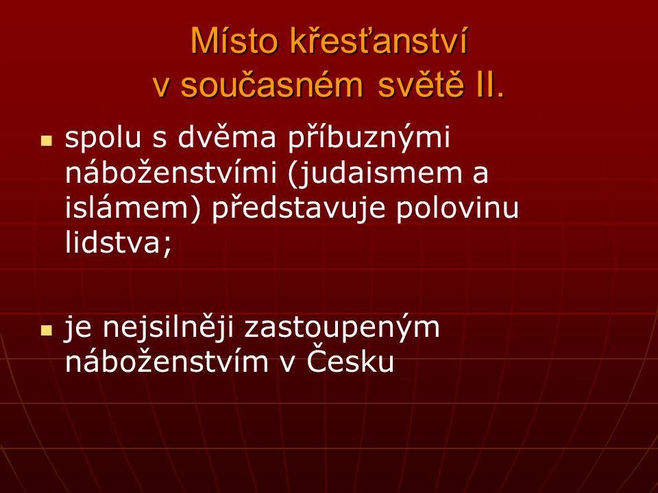 Řeholníci a řeholnice III.