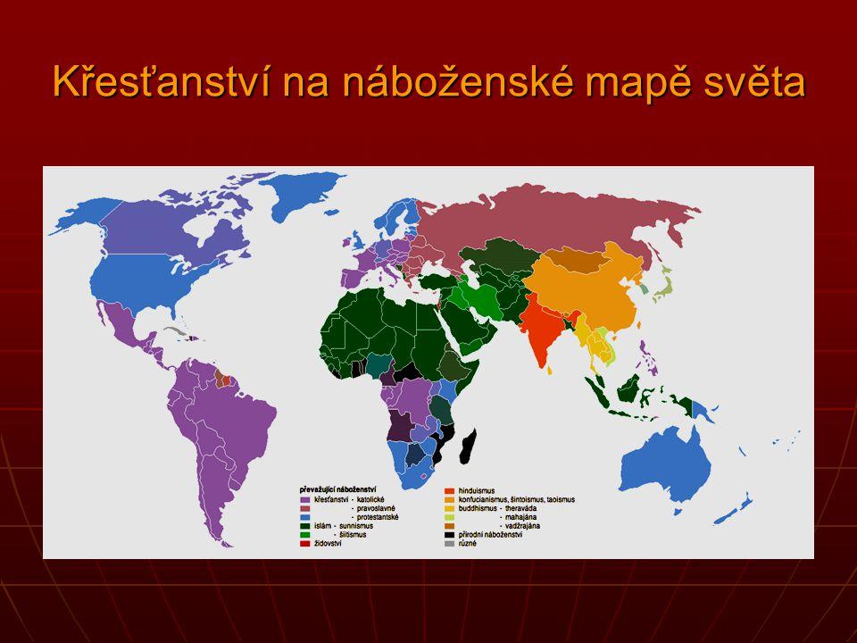 Křesťanství mezi náboženstvími světa