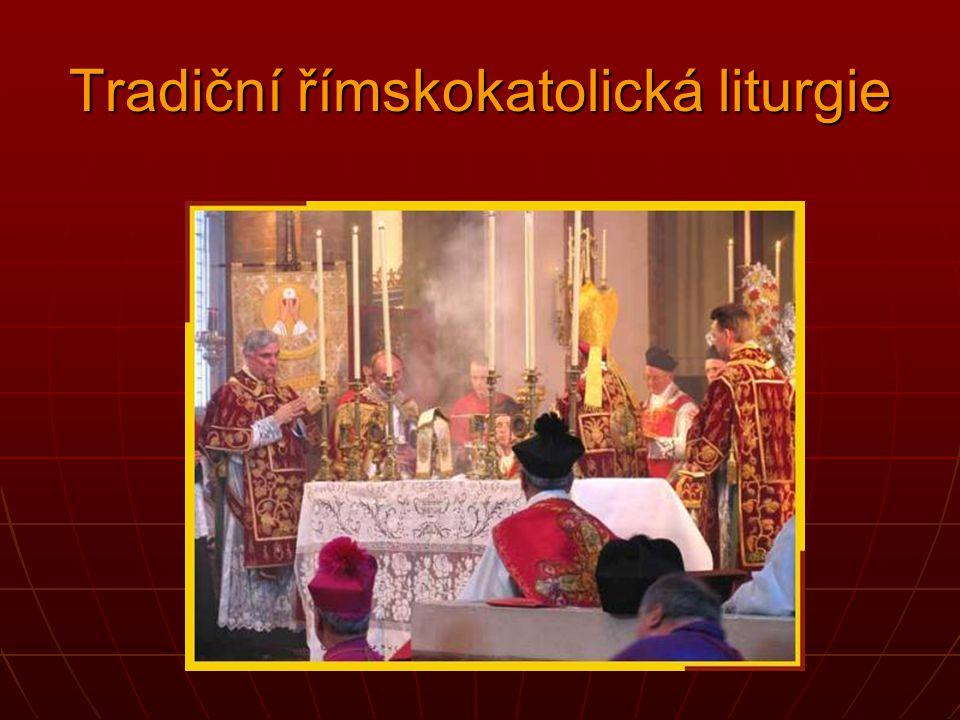 Tradiční římskokatolická liturgie