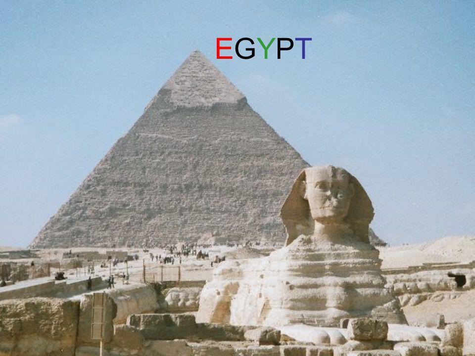 Egypt Egypt je arabská republika v severovýchodní Africe (malou částí též v Asii), ležící na Nilu.