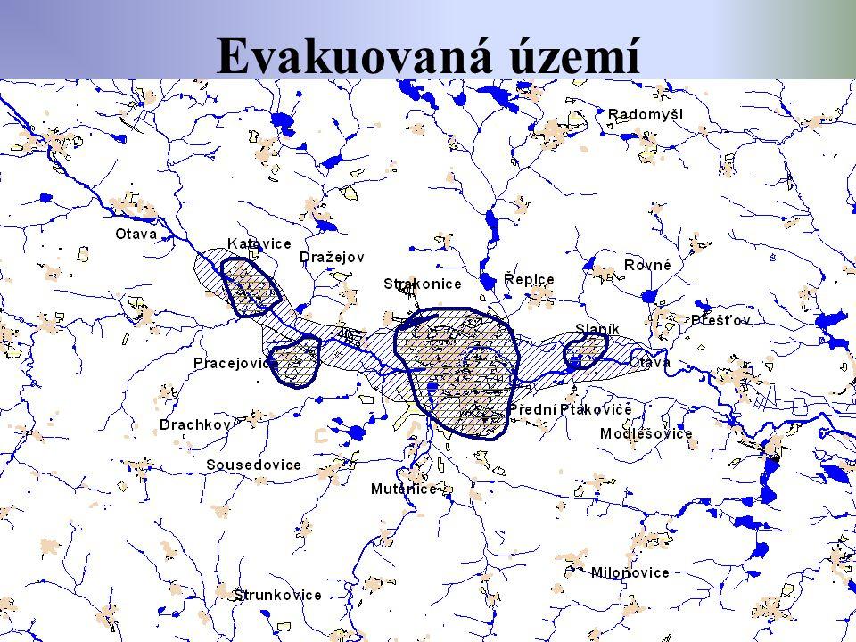 Evakuovaná území