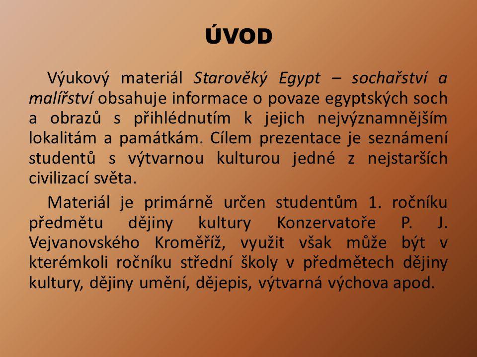 BUSTA KRÁLOVNY NEFERTITI 14.stol. př. n. l.