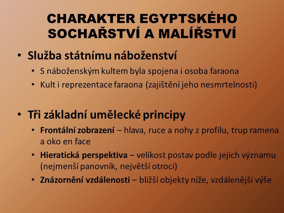 TUTANCHAMONOVA POHŘEBNÍ VÝBAVA Tutanchamon (vládl ve 2.
