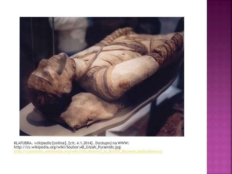 1. Proč Egypťané mumifikovali těla zemřelých? 2. Jaký význam měla mumifikace pro lékařství?