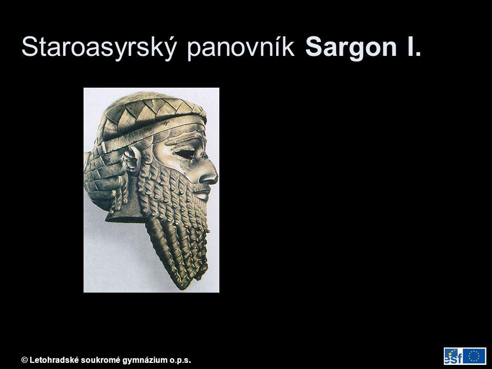 Staroasyrský panovník Sargon I.