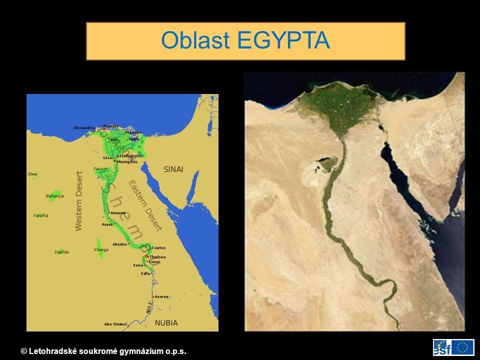 Oblast EGYPTA