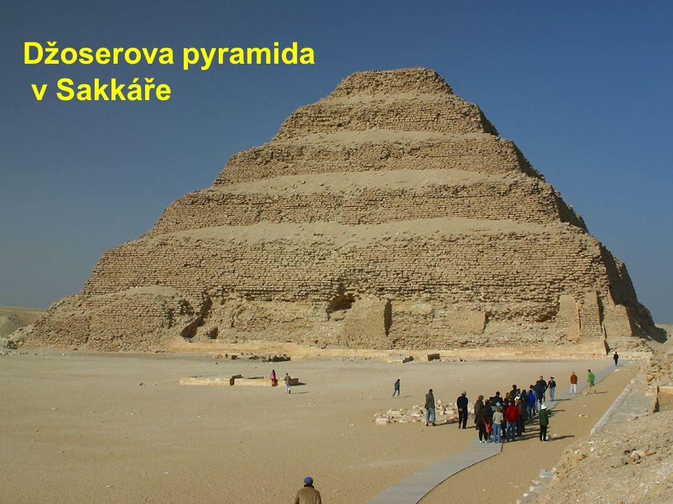 © Letohradské soukromé gymnázium o.p.s. Džoserova pyramida v Sakkáře