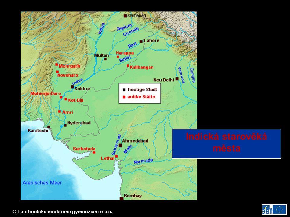 Indická starověká města