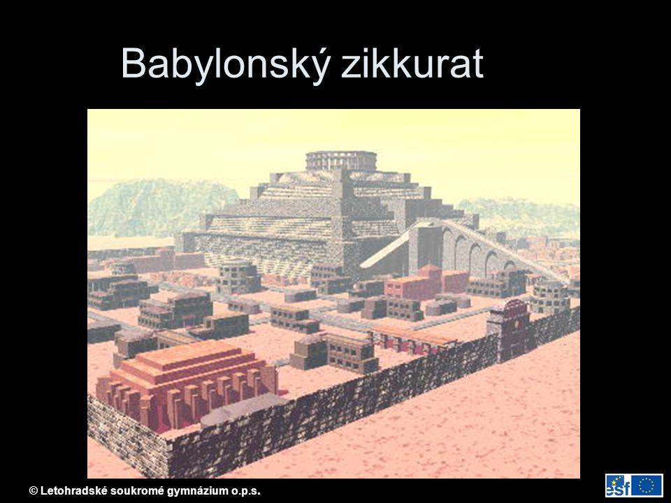 © Letohradské soukromé gymnázium o.p.s. Sfinga v Gíze