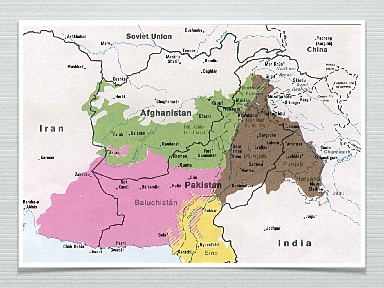 Balúčové Tento národ žije v oblasti Balúčistán, který je administrativně rozdělen mezi tři země: Jihozápadní Pákistán, východní Írán a malou část Afghánistánu.