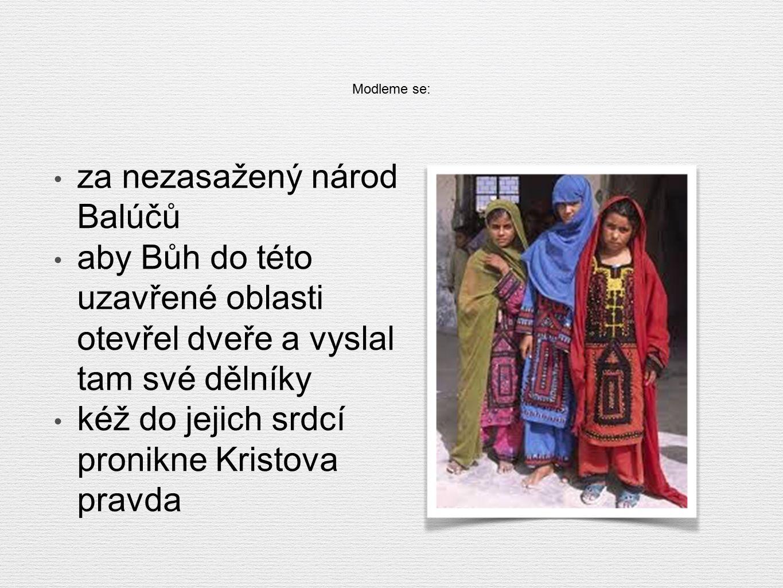 Za rozvoj misie v ČR Misijní kurz Kairos 8. - 12. června 2015 ve Smilovicích