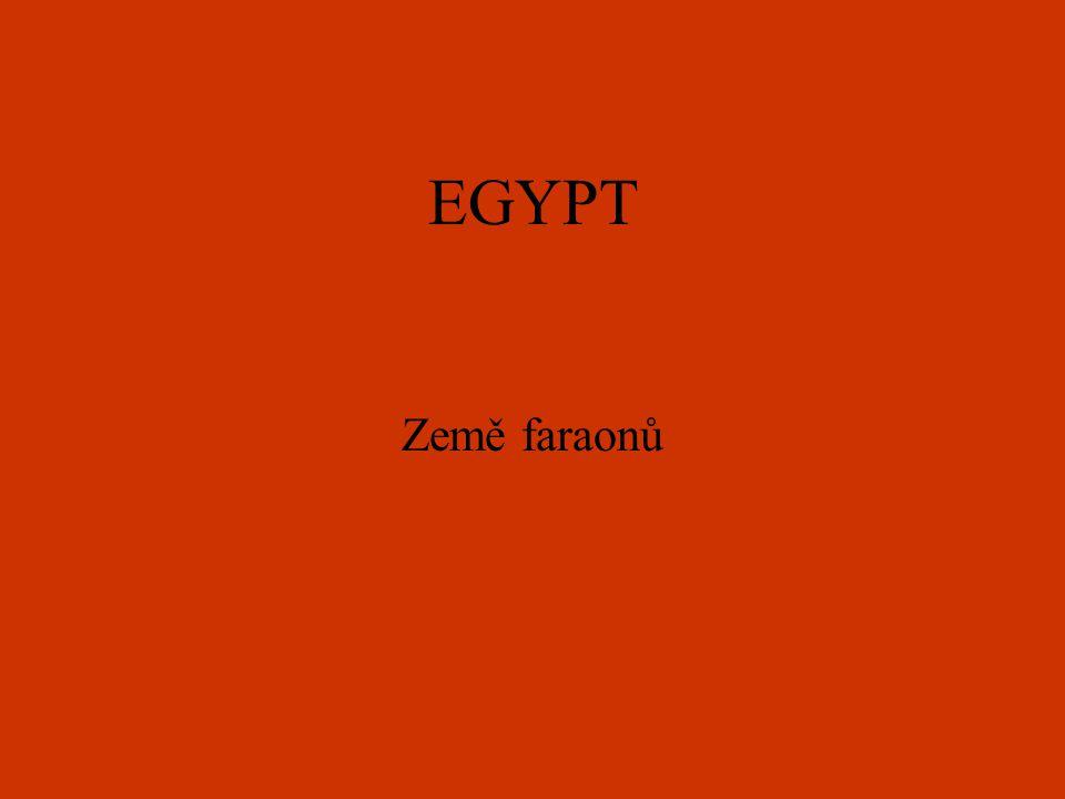 Vznik Egypta Vše začalo kolem roku 3000 př.n.