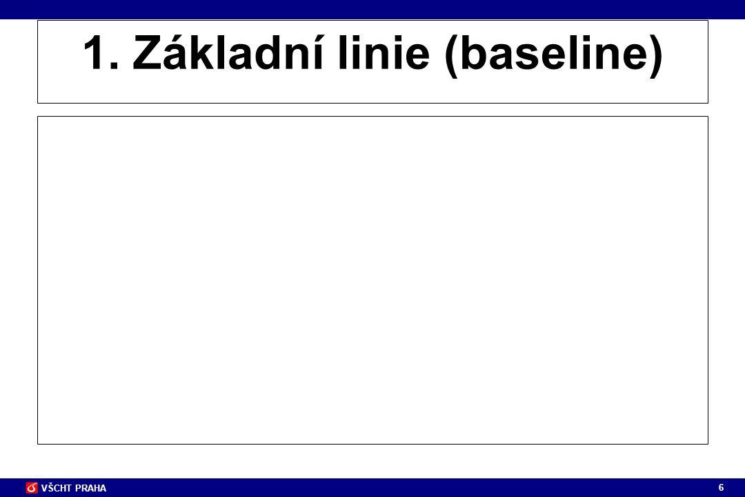 6 1. Základní linie (baseline)