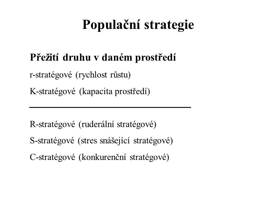 Populační cykly  Oscilace – během jedné generace nebo sezóny  Fluktuace – dlouhodobé  Gradace  Vlivy abiotických faktorů  Následky vztahů k ostatním populacím  Vliv interakcí uvnitř populace