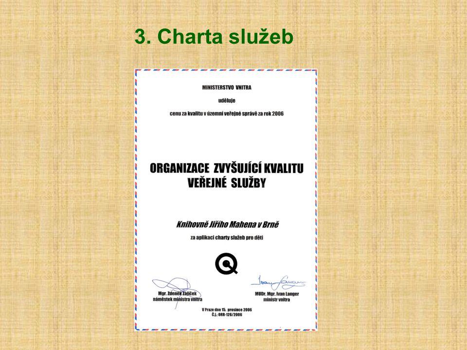 3. Charta služeb