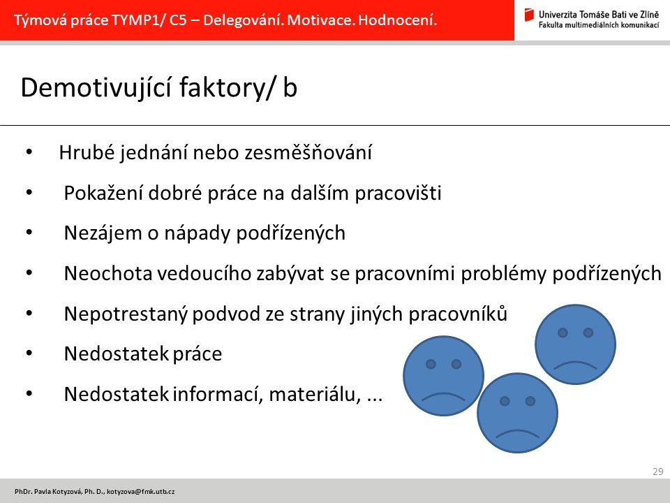 29 PhDr.Pavla Kotyzová, Ph.