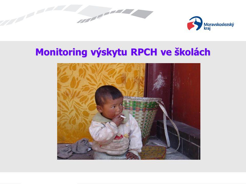 Monitoring výskytu RPCH ve školách
