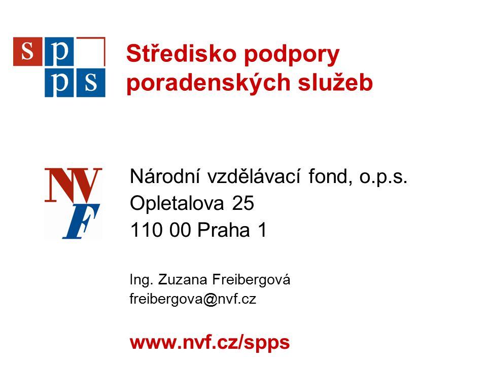 Středisko podpory poradenských služeb Národní vzdělávací fond, o.p.s.