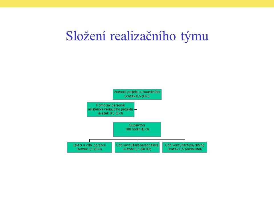 Složení realizačního týmu