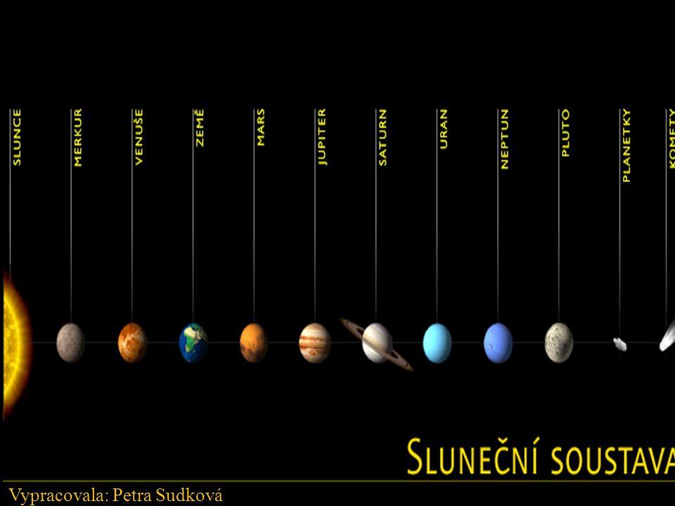 Sluneční soustava Slunce Merkur Venuše Země Mars Jupiter Saturn Uran Neptun Pluto Planetky Komety