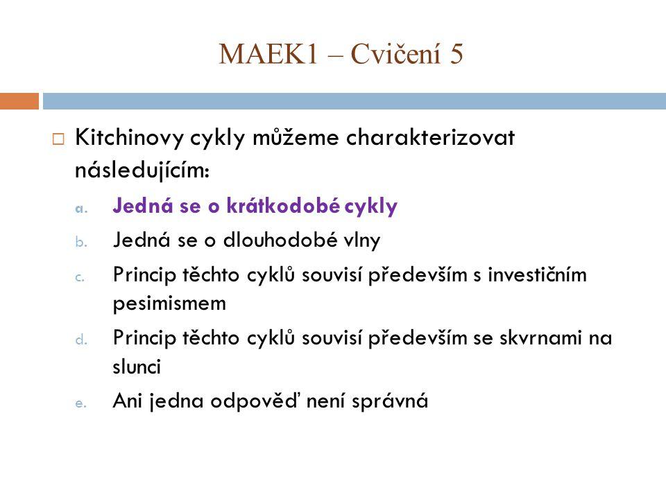 Kitchinovy cykly můžeme charakterizovat následujícím: a.