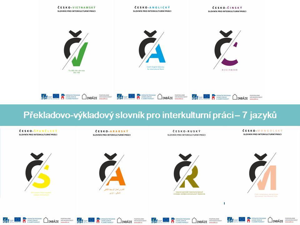 Překladovo-výkladový slovník pro interkulturní práci – 7 jazyků