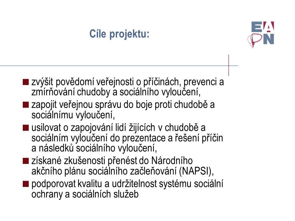 Úloha facilitátorů:  V každé cílové skupině doprovodná osoba (facilitátor)  3 facilitátoři pracovních skupin  Hlavní facilitátor