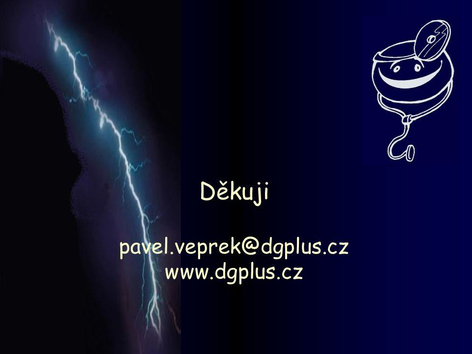 Děkuji pavel.veprek@dgplus.cz www.dgplus.cz