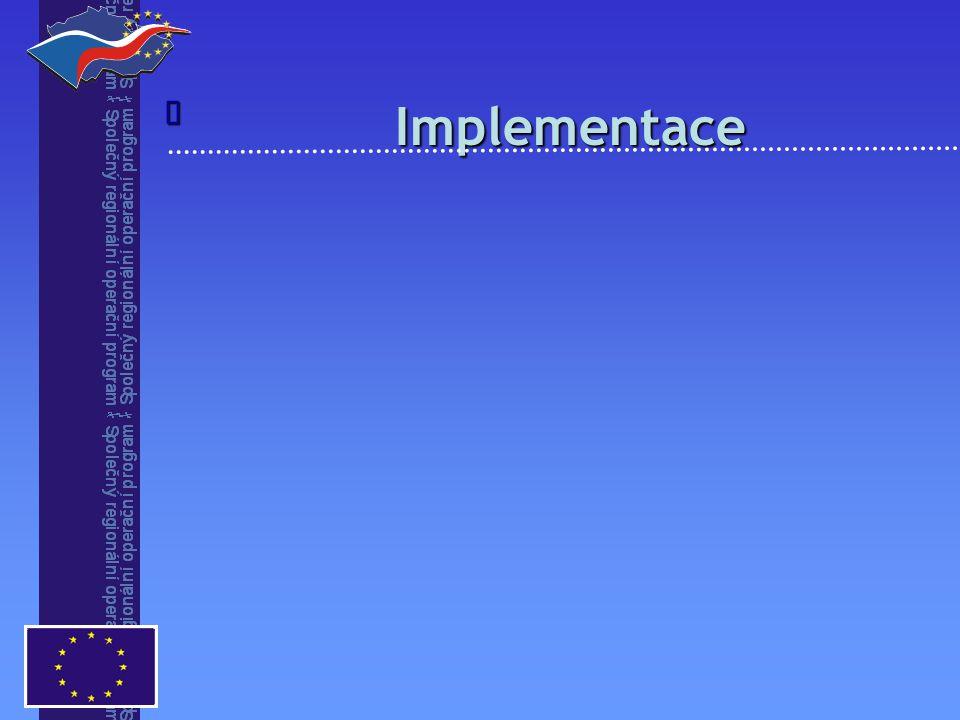 Implementace Implementace 
