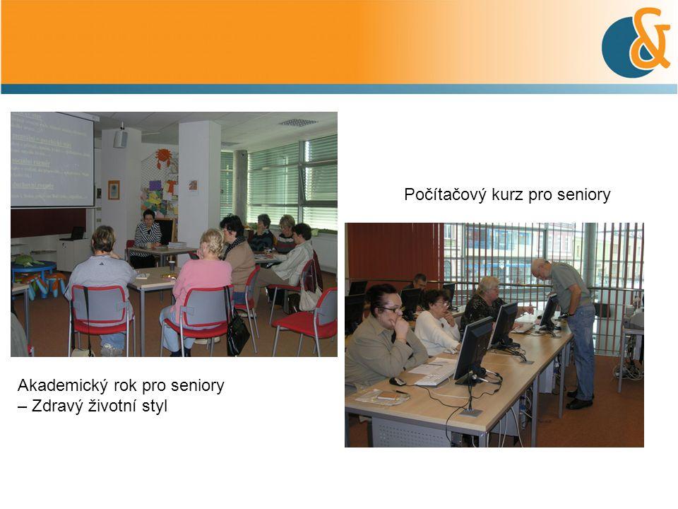 Akademický rok pro seniory – Zdravý životní styl Počítačový kurz pro seniory