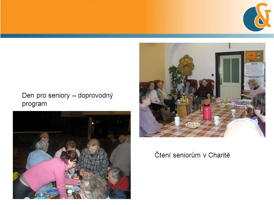 Den pro seniory – doprovodný program Čtení seniorům v Charitě