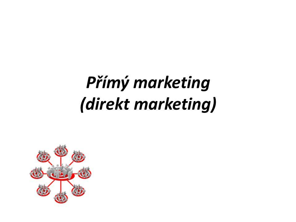 Přímý marketing (direkt marketing)