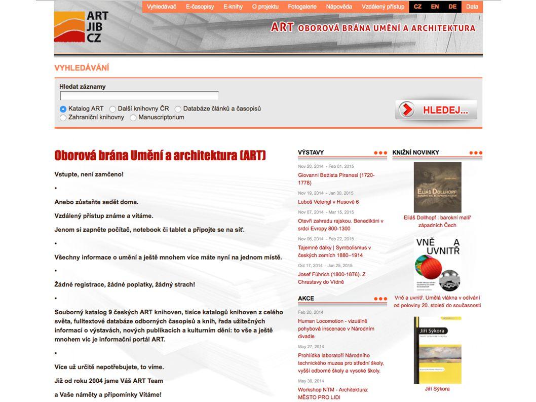 Paralelní vyhledávač MetaLib Paralelní vyhledávač MetaLib umožňuje vyhledávání a zobrazení výsledků vyhledávání z nejrůznějších informačních zdrojů Integrován jako komponenta v Plone Informační zdroje jsou do MetaLib zapojeny různorodé – knihovní katalogy, článkové databáze, repozitáře ad.