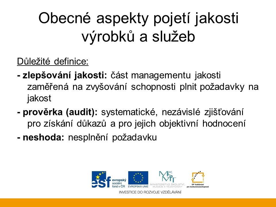 Řízení procesů Kvalita Podprocesy (2.