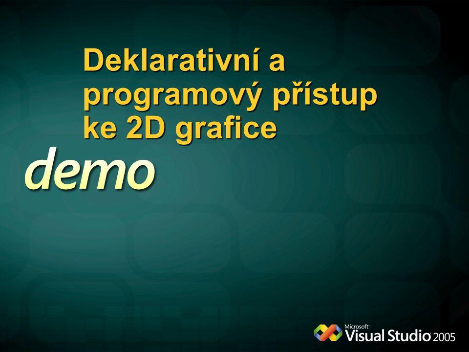 Deklarativní a programový přístup ke 2D grafice