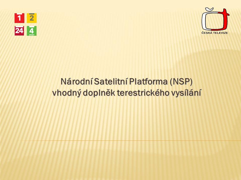 Národní Satelitní Platforma (NSP) vhodný doplněk terestrického vysílání
