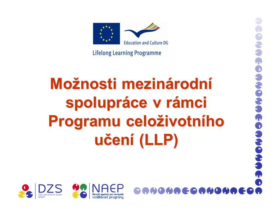 Národní agentura pro evropské vzdělávací programy (NAEP)  součást Domu zahraničních služeb MŠMT  koordinuje Program celoživotního učení (Lifelong Learning Programme LLP) a další programy: e-Twinning, Erasmus Mundus, Tempus, Finanční mechanismy EHP/Norska, SCIEX- NMSch (Scientific Exchange Programme between the New Member States of the EU and Switzerland)  cílem NAEP je vytvářet informační systém o vzdělávacích programech EU, poskytuje informační a konzultační služby týkající se svěřených programů, organizuje národní a mezinárodní semináře a konference a vydává informační materiály  webové stránky www.naep.cz
