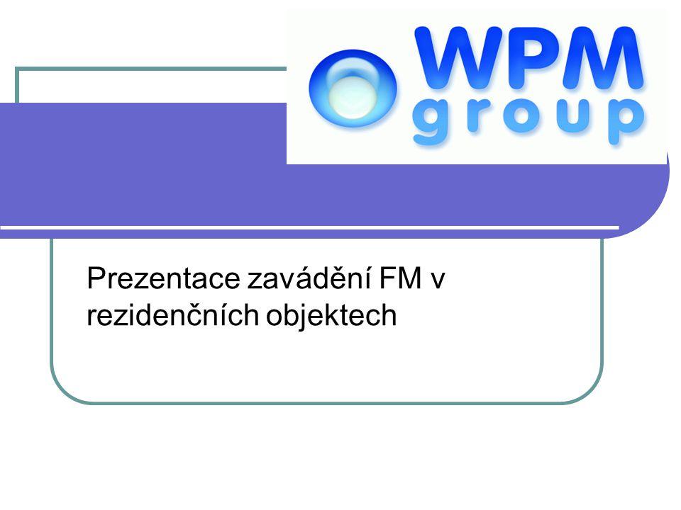 Obsah prezentace Informace o společnosti WPM Group, s.r.o.