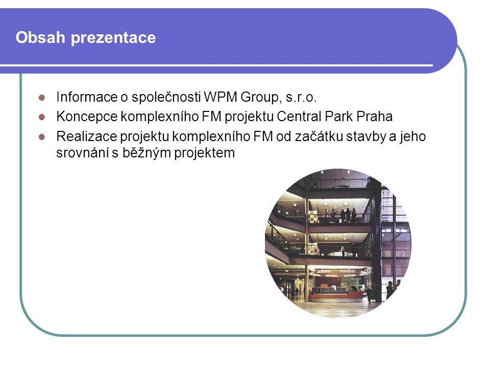 Informace o společnosti WPM Group, s.r.o.Společnost WPM Group, s.r.o.