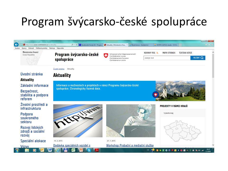 Program švýcarsko-české spolupráce
