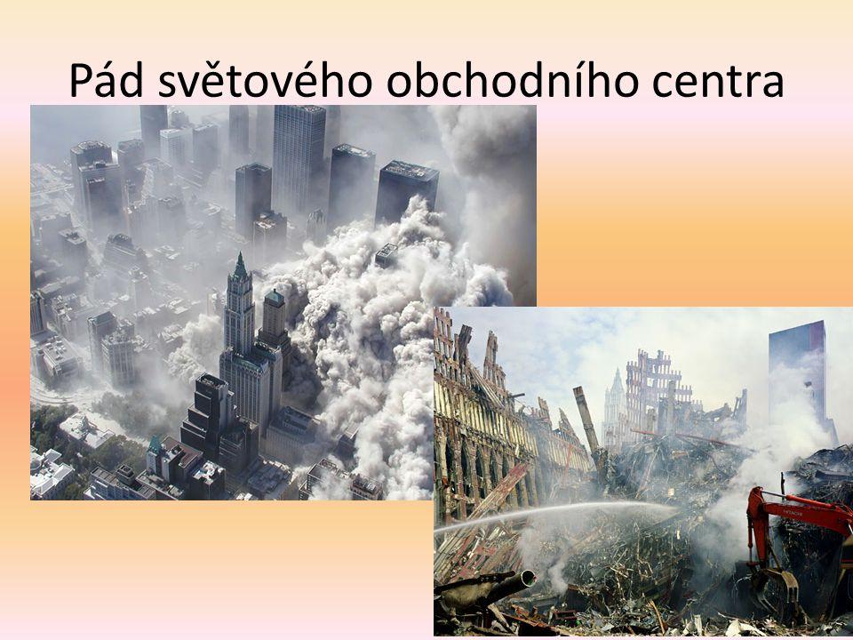 Pád světového obchodního centra