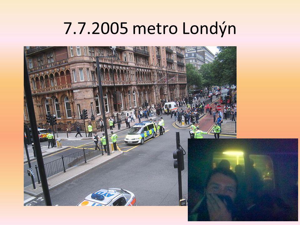 7.7.2005 metro Londýn
