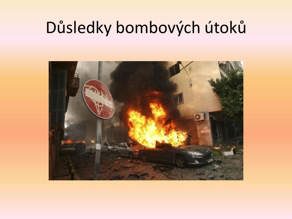 Důsledky bombových útoků
