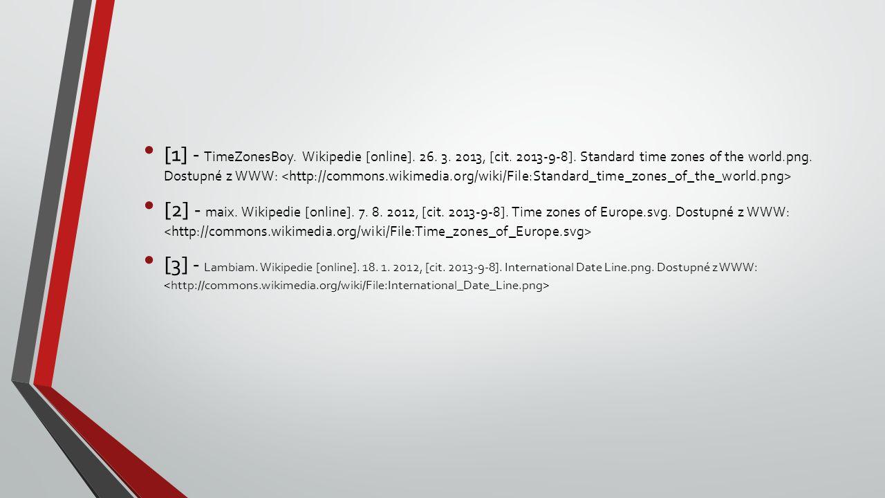 [1] - TimeZonesBoy.Wikipedie [online]. 26. 3. 2013, [cit.